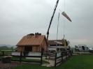 Bau der neuen Klubhütte